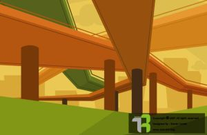 Bridge and perspective by Arousha