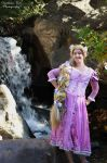 Tangled Rapunzel Waterfall Cosplay by aimeekitty