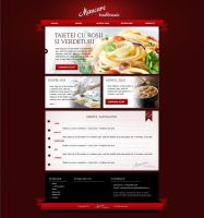 Catering company website by DragosM