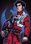 1 of 9 - Poe Dameron by JoeHoganArt