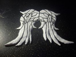 Daryl Dixon's Wings FINISHED by DragonHeartLuver