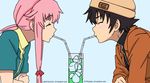 Future Diary - Yuno and Yukki by Al-Fatman