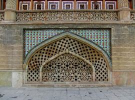 Persian Architecture 13 - Tiles and Vent by fuguestock