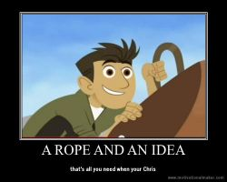 a rope and an idea by articfoxice