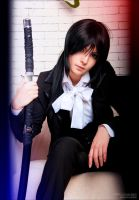 K-Project: Yatogami Kuroh cosplay by KandaDream