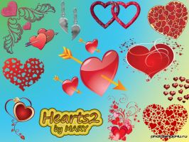 Hearts 2 by MARY1976