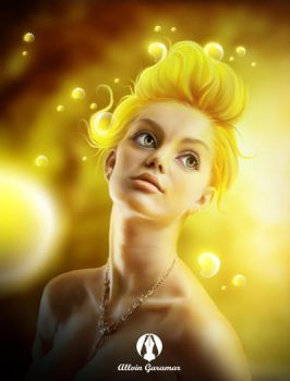 YELLOW by allvinART
