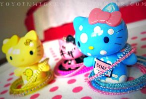 Hello Kitty Wears Kandi by SugarAndSpiceDIY