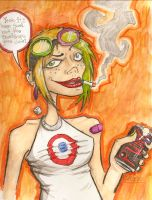 Tank Girl by toasterb0t