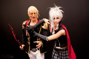Nine and Sice - Final Fantasy Type-0 Cosplay by LeonChiroCosplayArt