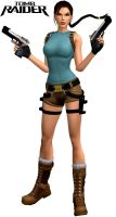 Lara Croft v1 by Rockeeterl
