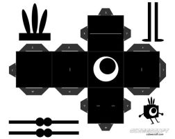 Patapon Cubee by sixtimesnine