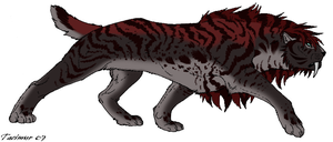 Saber Cat Point Adopt 7 GONE by Kasara-Designs
