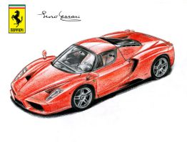 Ferrari Enzo by SL-Cardesign
