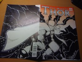 Thor Sketch Cover 02 by renecordova