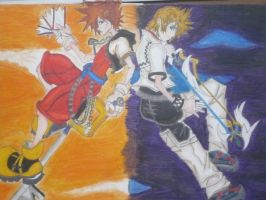 KINGDOM HEARTS by anime-no-jutsu
