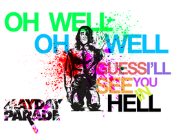Oh Well, Oh Well Poster by cheddarrrr