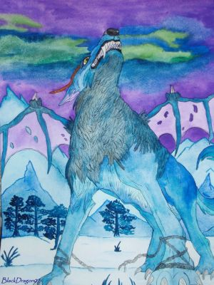 Another Arctica Wolf Dragon