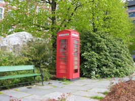 Phone booth by digital-amphetamine