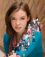 Cherami Leigh character collage by EmSeeSquared