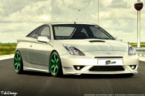 Toyota Celica by tebidesign