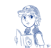 Dipper Pines Quick Sketch by KanzenCM