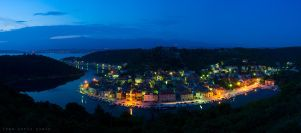 Blue hour in Novigrad by ivancoric