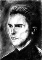 Christian Bale by Besaid