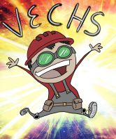 Kickstarter Drawing #6- Vechs by RomanJones