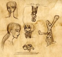 Sketches 2 by Number-14