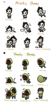 Masky Hoody shimeji (Mac and PC) by Mangaotakufreak