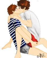 Larry stylinson by Kushina-Uzumaki-II