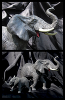 Safari Ltd. Vanishing Wild - African Elephants by The-Toy-Chest