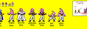 Buu's Forms by yurestu