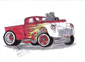 40's Willys Gasser by Mister-Lou