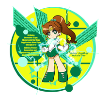 SailorJupiter Graphic by SHINOKAZI09
