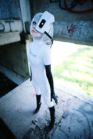 GLaDOS cosplay Portal by Tenori-Tiger