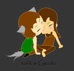 chibi Gwizdo and Tofik............ by C-J-Sparrow