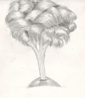 Fun from Sketchbook: Tree by Monanico