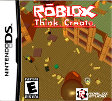 ROBLOX Nintendo DS Fake Cover by SpiderNaruto