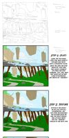 B7 Environment Study 3 Steps by Smitty-Tut