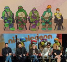 Tmnt 2012 The Cast by Dragona15