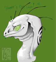 B-DAY PRESENT FOR LACE by RAIDEO-MARS
