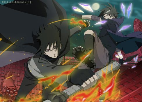Uchiha Combo by StillDollSawaii