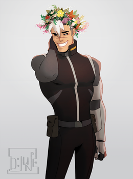 Shiro Voltron by DJune-y