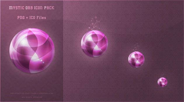 Mystic Orb Icon Packet by webgraphix