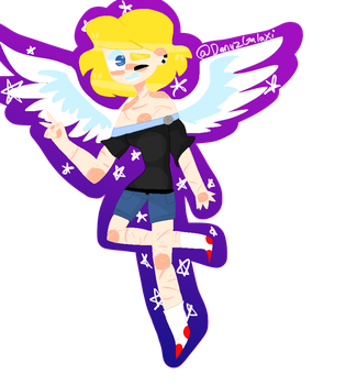 Scratched Angel by DanyzGalaxi