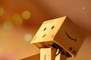 Gazing Danbo by KikisDesigns