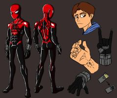 The Unusual Spider-Man suit by IHComicsHQ