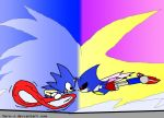 Sonic VS Metal by Xero-J